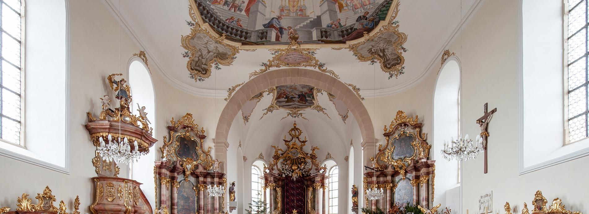 Die Pfarrkirche Sankt Jakobus