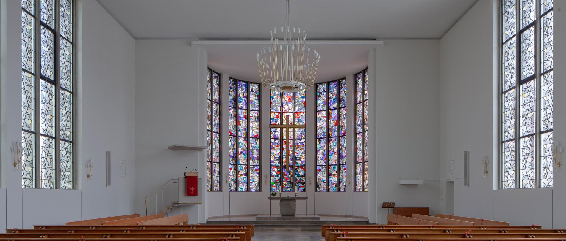 Die Pauluskirche in Hambach